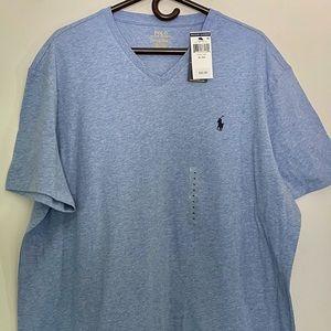 NWT Polo Ralph Lauren Vneck T-shirt XL
